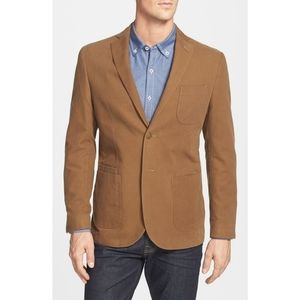JKT New York 'Bond' Washed Canvas Blazer Men's 40R